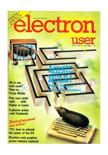 Electron User Vol.2 No.9 July 1985