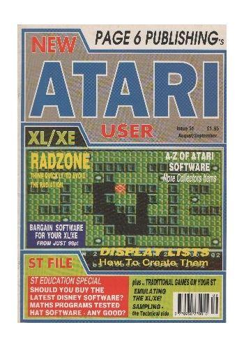Atari User. Issue 51. August/September 1991