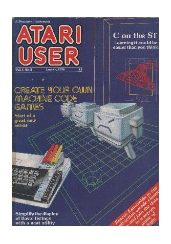 Atari User. Vol.1. No. 8. January 1986