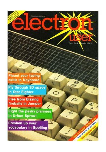 Electron User Vol.2 No.2 November 1984