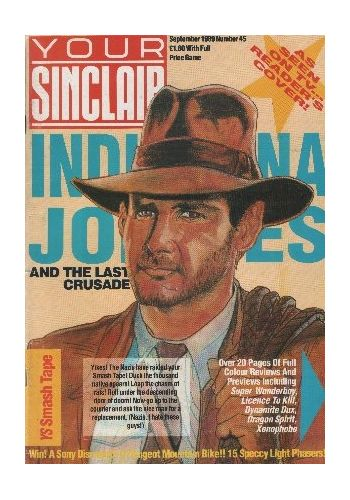 Your Sinclair. Issue 45. September 1989