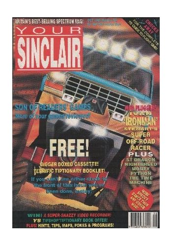 Your Sinclair. Issue 58. October 1990