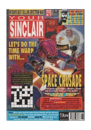 Your SInclair. Issue 75. March 1992