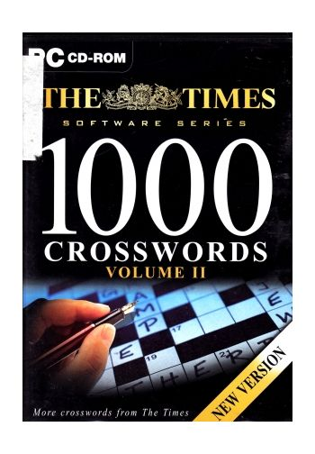 1000 Crosswords Volume II