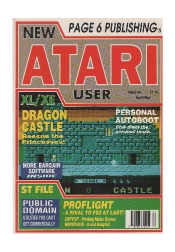 Atari User. Issue 49. April/May 1991
