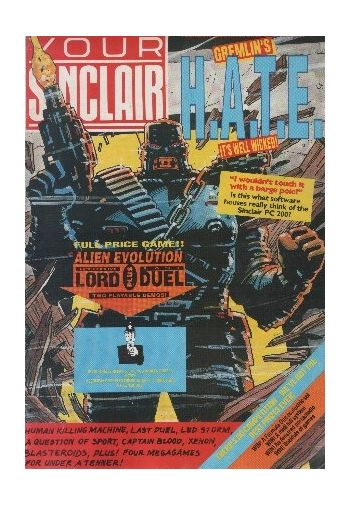 Your Sinclair. Issue 38. February 1989