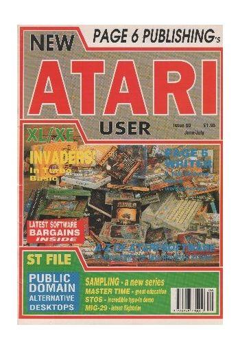 Atari User. Issue 50. June/July 1991