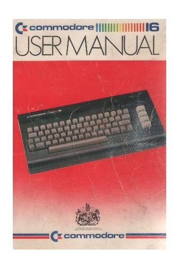Commodore 16 User Manual.