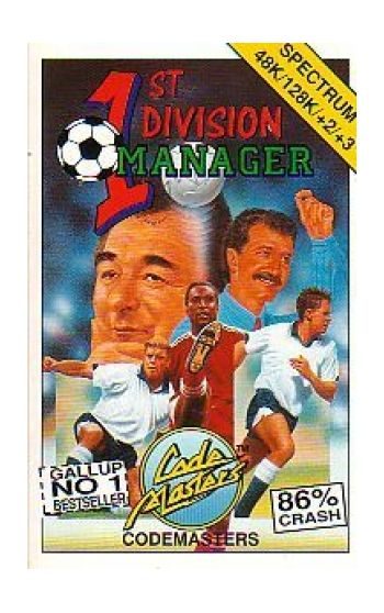 1st Division Manager.