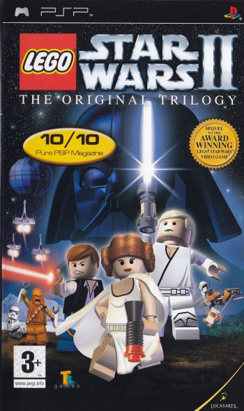 Hand Held Sony PSP Games Star Wars 2 The Original Trilogy