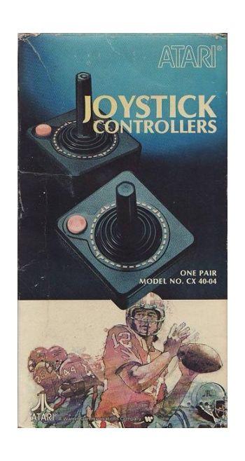 Pair Atari Joysticks (boxed)